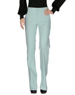 Повседневные брюки MASSCOB. Цвет: светло-зеленый