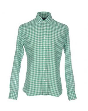 Pубашка DANDYLIFE BY BARBA. Цвет: зеленый