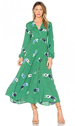 Платье lily ROLLAS ROLLA'S. Цвет: зеленый
