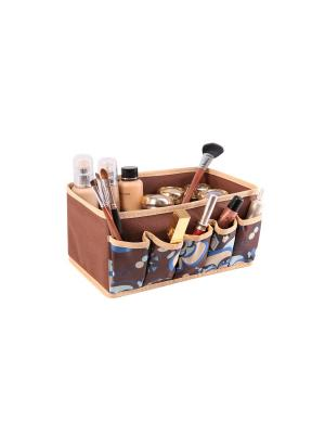 Органайзер ддя мелочей 25х15х12см Прованс 1330 COFRET. Цвет: бежевый,коричневый,голубой