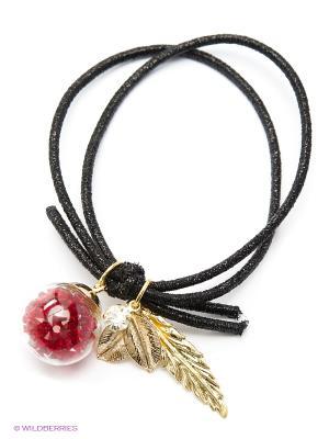 Заколка Kameo-bis. Цвет: черный, красный, золотистый