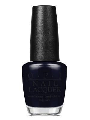 Лак для ногтей Black Dress Not Optional, 15 мл OPI. Цвет: черный