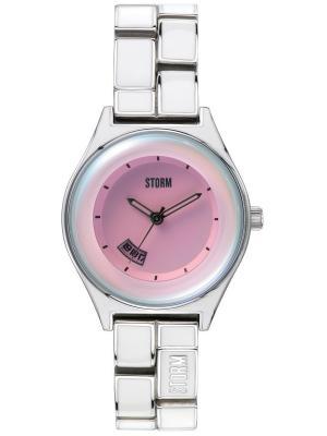 Часы MINILAZERPINK47164/PK Storm.. Цвет: розовый, белый