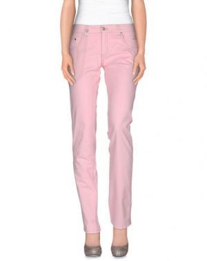 Повседневные брюки NICWAVE. Цвет: розовый