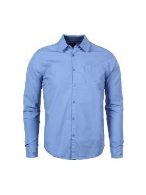 Рубашка Fresh. Цвет: голубой