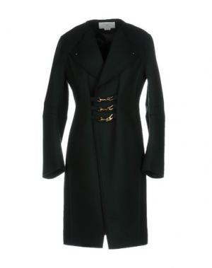 Пальто ESTEBAN CORTAZAR. Цвет: темно-зеленый
