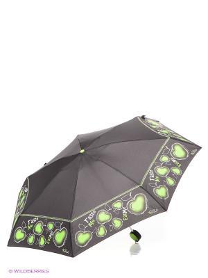 Зонт H.DUE.O. Цвет: черный, зеленый, белый