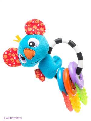 Игрушка-прорезыватель Коала Playgro. Цвет: голубой, фиолетовый, оранжевый, зеленый