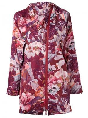 Куртка Tempesta Sàpopa. Цвет: розовый и фиолетовый