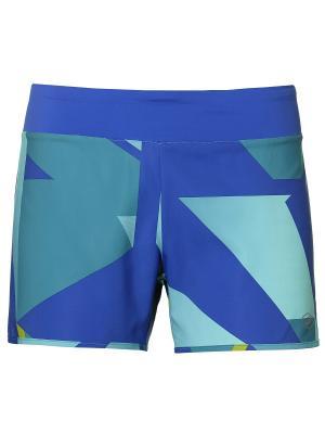 Шорты fuzeX 4IN SHORT ASICS. Цвет: синий, морская волна, светло-голубой