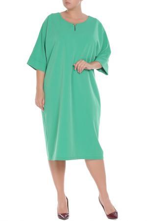 Платье Amazone. Цвет: зеленый