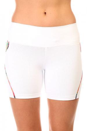 Шорты пляжные женские  New Zealand Shorts White CajuBrasil. Цвет: белый