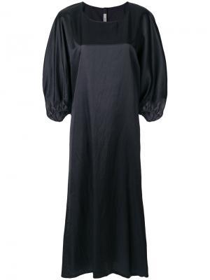 Платье Fara Flash Humanoid. Цвет: чёрный