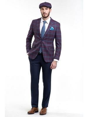 Пиджак Sarto Reale. Цвет: темно-бордовый