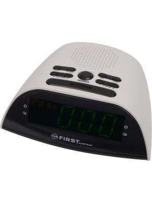 Радио-часы FIRST. Цвет: белый