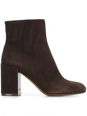 Ботинки на молнии  LAutre Chose L'Autre. Цвет: коричневый