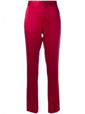 Классические брюки Haider Ackermann. Цвет: розовый и фиолетовый