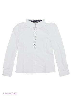 Блузка КАЛIНКА. Цвет: белый