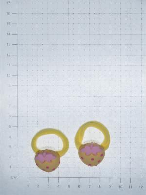 Резинка(2 шт) Bizon. Цвет: желтый