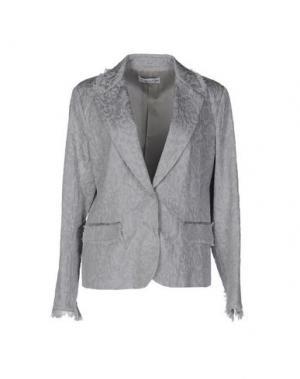 Пиджак GOSSIP. Цвет: светло-серый