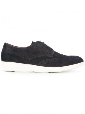 Casual lace-up brogues Fratelli Rossetti. Цвет: синий
