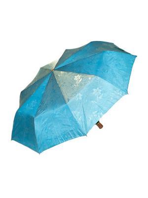 Зонт автоматический Mitya Veselkov. Цвет: голубой
