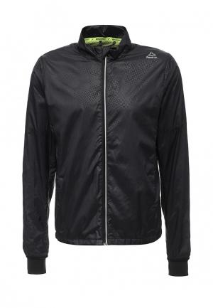 Куртка спортивная Reebok. Цвет: черный