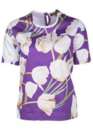 Блуза VIA TORRIANI 88. Цвет: фиолетовый