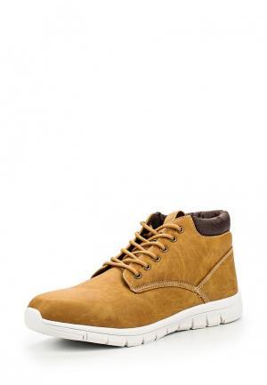 Ботинки Ellesse. Цвет: коричневый