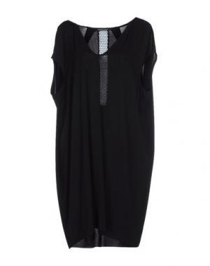 Короткое платье NERO INK. Цвет: черный