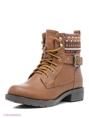 Ботинки Refresh. Цвет: коричневый