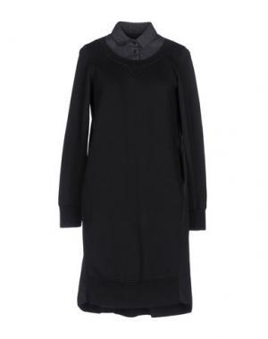 Короткое платье EUROPEAN CULTURE. Цвет: стальной серый