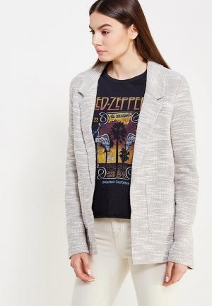 Пиджак Topshop. Цвет: серый