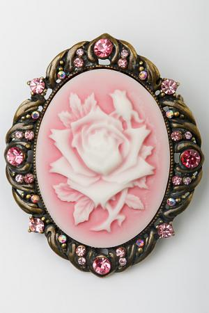 Брошь FRANSUA ARDY. Цвет: розовый