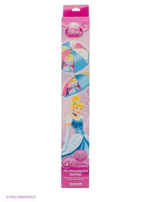 Зонтик для раскрашивания Золушка Чудо-творчество. Цвет: белый, голубой, розовый