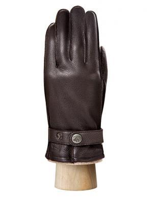 Перчатки Eleganzza. Цвет: темно-коричневый, бежевый