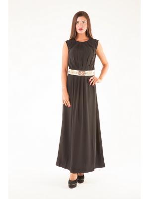 Платье Элегант черное Glam Goddess
