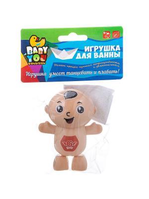 Игрушки для ванной BONDIBON. Цвет: лазурный,салатовый,темно-бежевый