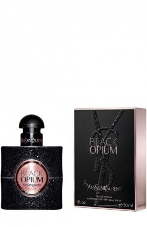 Парфюмерная вода Black Opium YSL. Цвет: бесцветный