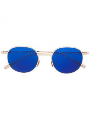 Солнцезащитные очки Karlheinz Ambush. Цвет: металлический