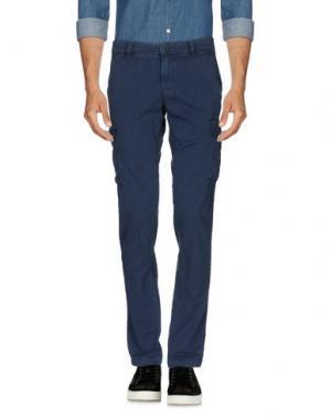 Повседневные брюки MASON'S. Цвет: грифельно-синий