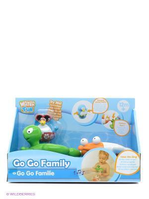 Набор для ванны Веселые друзья черепаха и рыба Toy Target. Цвет: зеленый, оранжевый