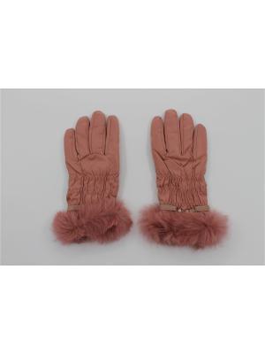 Перчатки Cascatto. Цвет: розовый