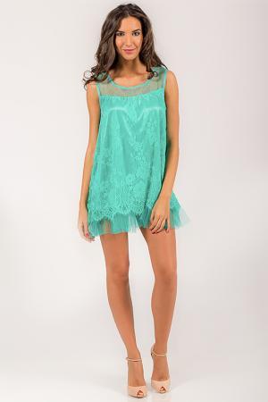Платье Angel. Цвет: зеленый