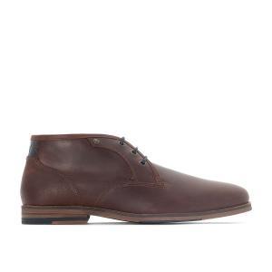 Ботинки-дезерты кожаные ALERTE REDSKINS. Цвет: каштановый