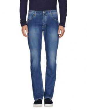 Джинсовые брюки DW⁵. Цвет: синий