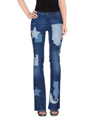 Джинсовые брюки THE SEAFARER. Цвет: синий