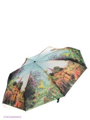Зонт Zest. Цвет: темно-зеленый