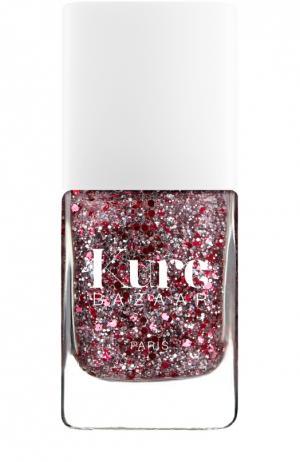 Лак для ногтей с блестками Confetti Kure Bazaar. Цвет: бесцветный