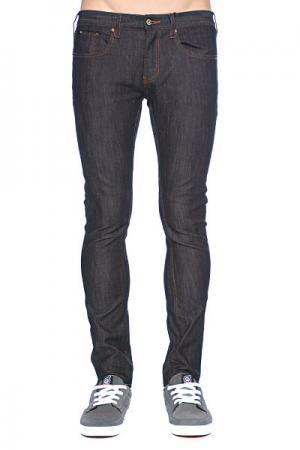 Джинсы узкие мужские зауженные  Staple Slim Denim Indigo Dry Rinse Circa. Цвет: черный